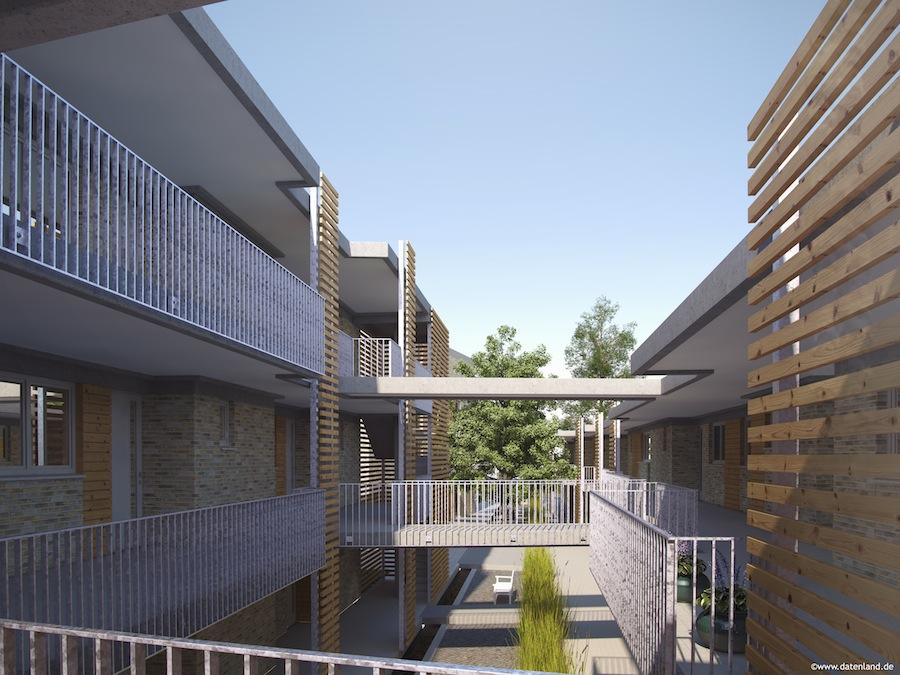 Wohnen akazienstra e datenland for Christian koch architekt